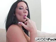 Jayden Jaymes shows off her hot body