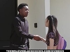 TLBC - Tight Asian Teen Eva Yi Gets Fucked By Strangers Black Cock