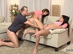 DADDY4K. adult playmate could not say no to daughters of his girlfriend moms xxx