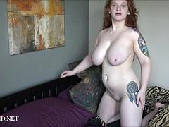 Buxom youngster PAWG (19Yrs-Bed Loving) 1080p