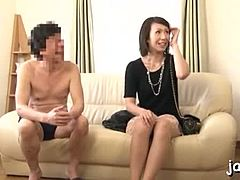 Sugary grown Asian Reiko Kirishima pissed by bro Mom Porn
