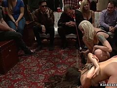Japanese bondwoman acquires fisted in outside maturepornvideos xxx